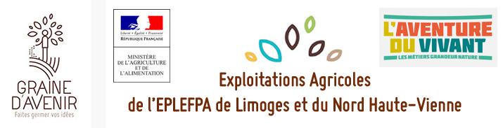Exploitations Agricoles de l'EPLEFPA de Limoges et du Nord Haute-Vienne